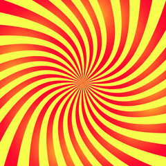 Twisted rays. Abstract vector background