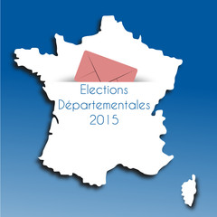 Carte France Départementales