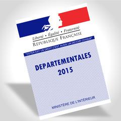 Carte électeur départementales 2015