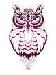 Owl tattoo - 77458470