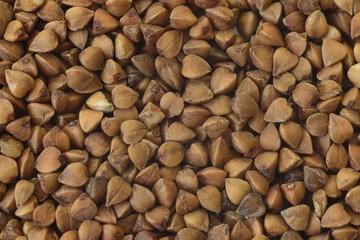 macro buckwheat background