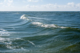landscape on sea waves as a force of nature poster