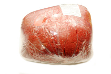 Fresh Organic Packaged Hamburger from the Butcher
