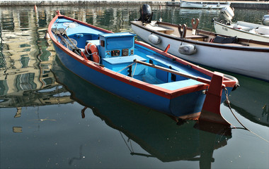 Boats on the port