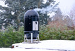 smoker grill im Winter - 77466491