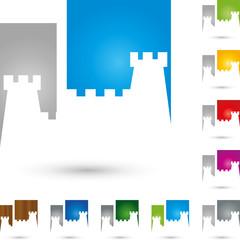 Logo, Turm, Schloss, Burg