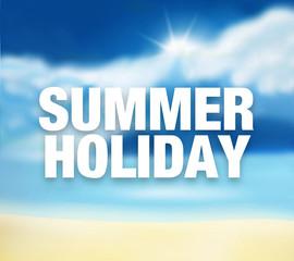 Summer Holiday sunny sky