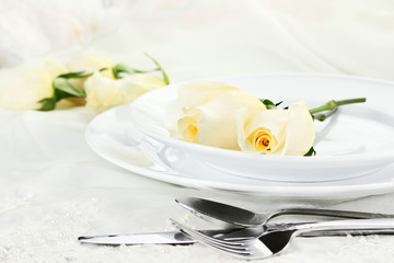 Romantic Table Setting
