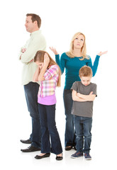 Family: Parents and Kids All Upset with Each Other