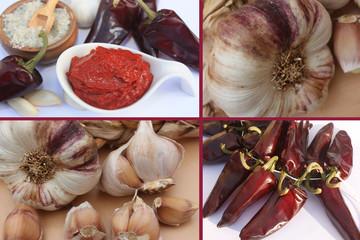 Harissa - Piments séchés Ail violet