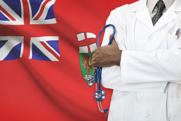 Concept of Canadian healthcare system - Manitoba