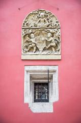Architectural detail in Krakow, Poland