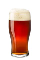 fresh pint of beer