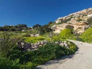 Mediterraner Wanderweg in Malta