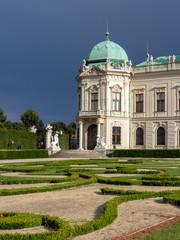 Teilansicht des Oberen Belvedere, Wien
