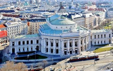 Hofburg, Wien von oben