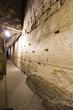 Leinwanddruck Bild - Western wall tunnel