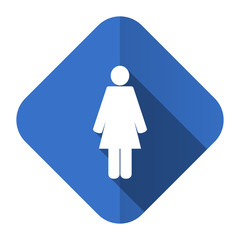 female flat icon female gender sign