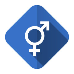 sex flat icon gender sign