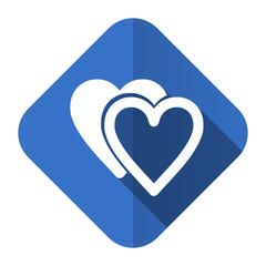 love flat icon sign hearts symbol