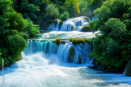 Waterfalls Krka - 77479861