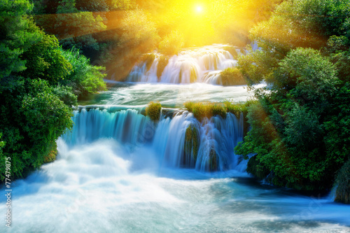 Waterfalls Krka - 77479875