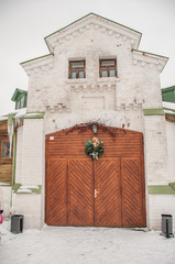 "The arena in the estate ""Serednikovo""."