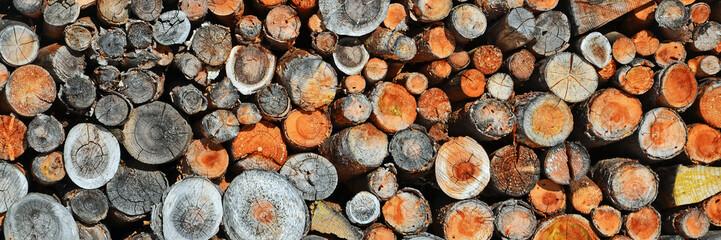 holzstapel, brennholz, holz