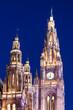 Wiener Rathaus - Nachtaufnahme