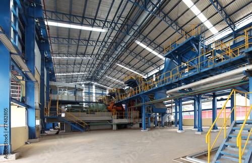 Staande foto Industrial geb. Sugar mill factory