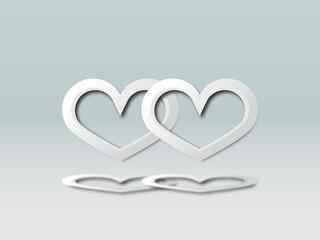 Vector Happy Valentine's card background