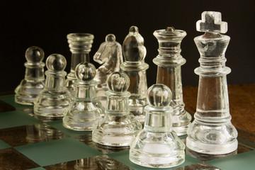 Scacchi su scacchiera