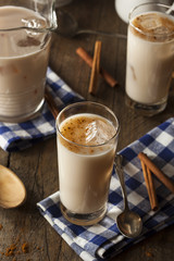 Homemade Horchata with Cinnamon