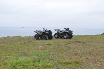 Two ATVs