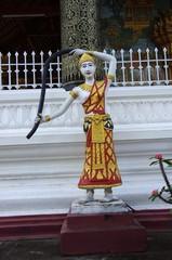 Statue à Luang Prabang, Laos
