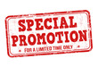 Special promotion stamp - 77498883