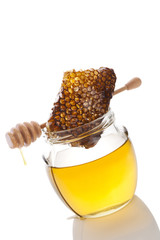 Delicious honey.