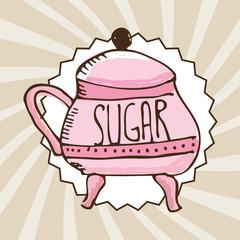 sugar container