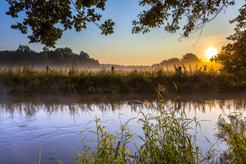 Dinkel Creek early morning