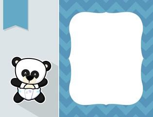 baby panda frame