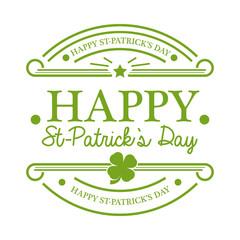 St Patrick's Day Emblem