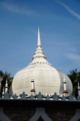 Dome of Kuala Lumpur Jamek Mosque in Malaysia