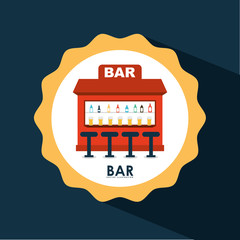 bar icon design
