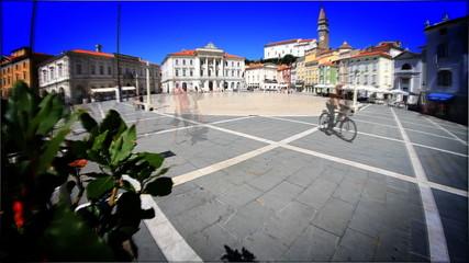 City Piran in Slovenia.