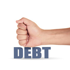 hit the debt