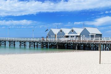 Busselton jetty in Western Australia