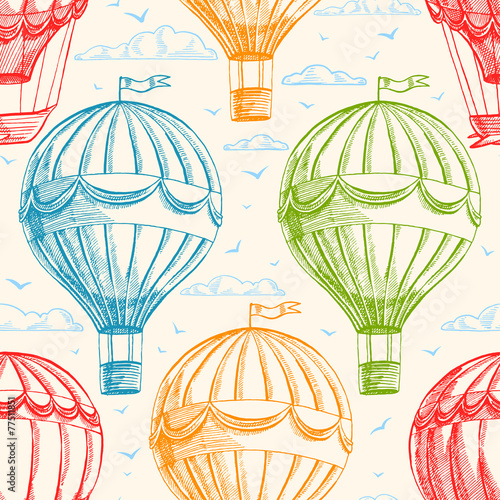 Vintage balloons - 77511851