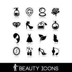 Beauty Icons Set 7