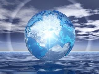 earth and water