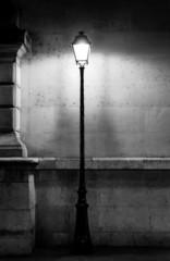 Vintage lamp post in Paris
